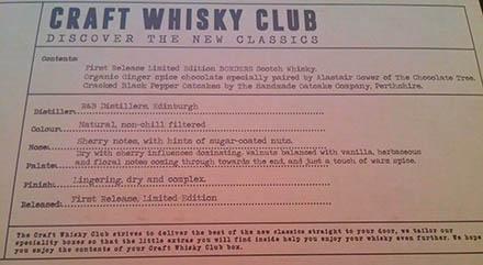 Craft Whisky Club